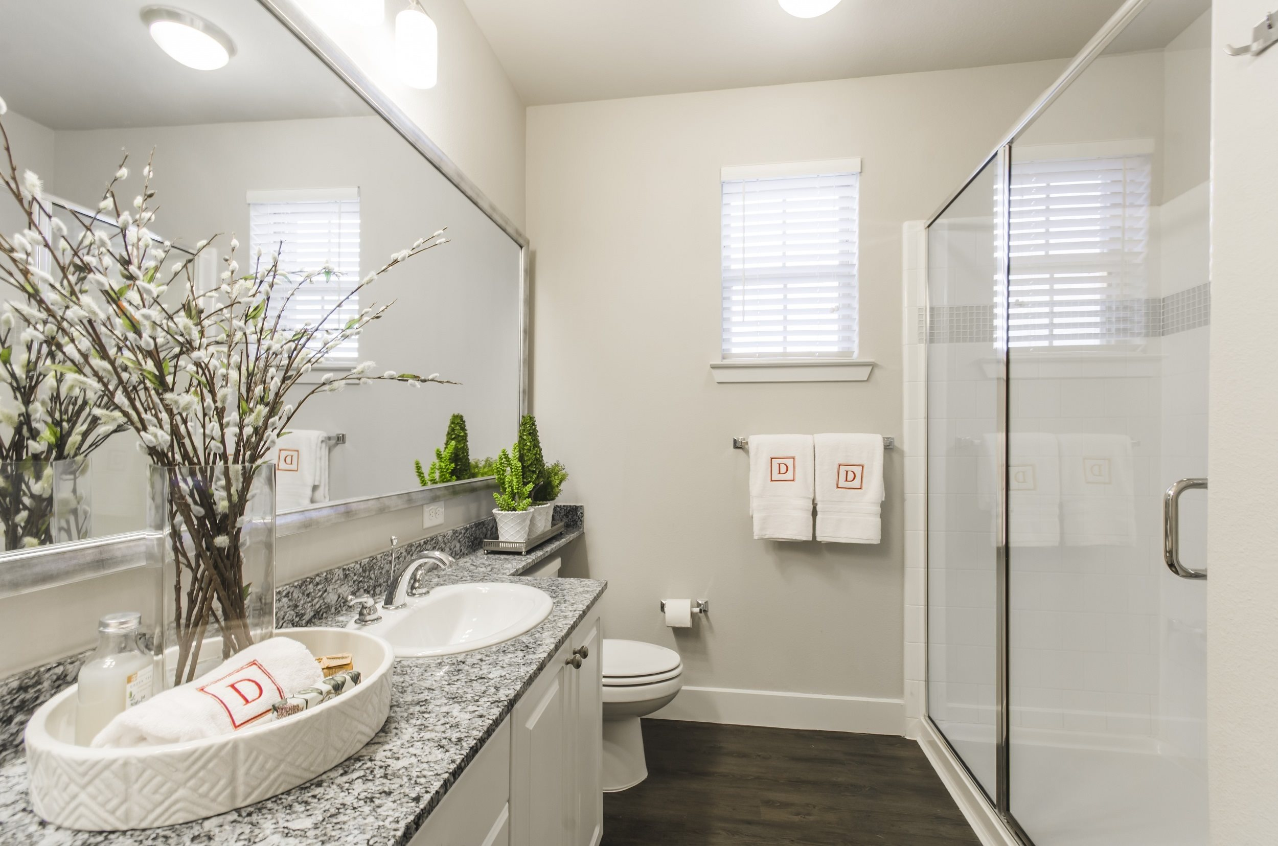 Double Sink Vanities at Touchstone Modern Apartment Homes, Broomfield, CO 80021