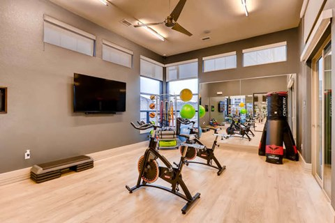 Fitness Center with Fitness-On-Demand Technology