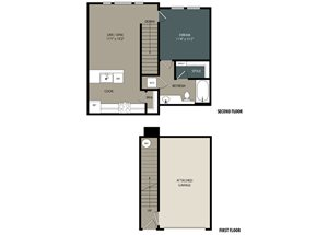 CARRIAGE Floor Plan at Touchstone Modern Apartment Homes, Broomfield, CO 80021