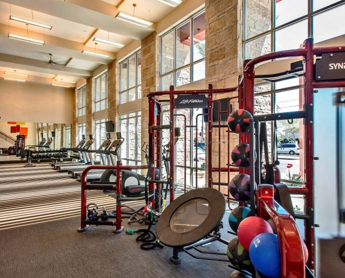 commercial fitness center