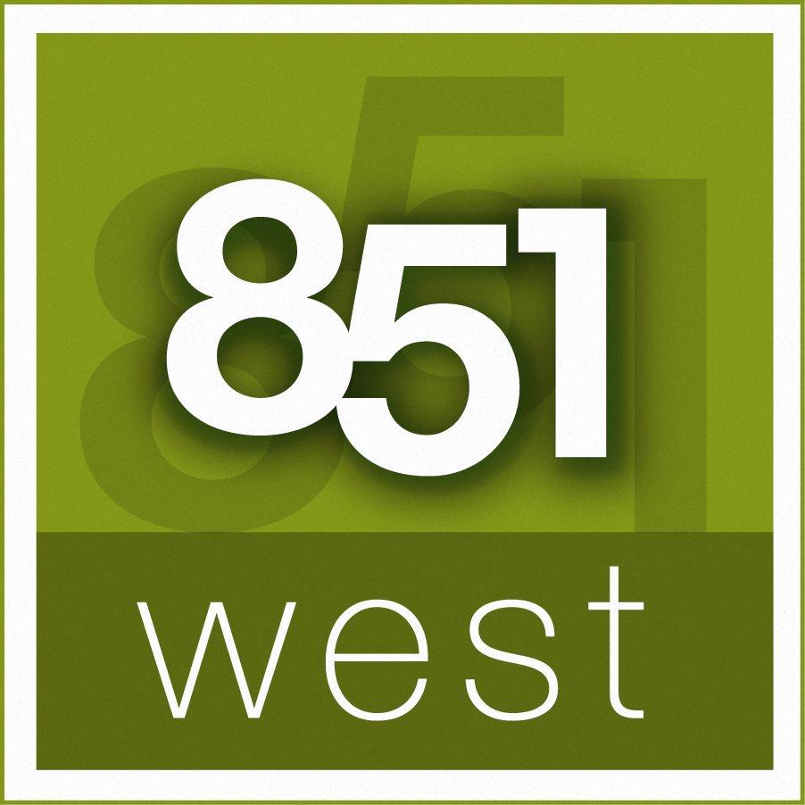 851 West Logo