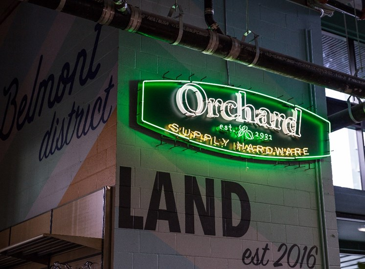 Orchard at Goat Blocks, Portland