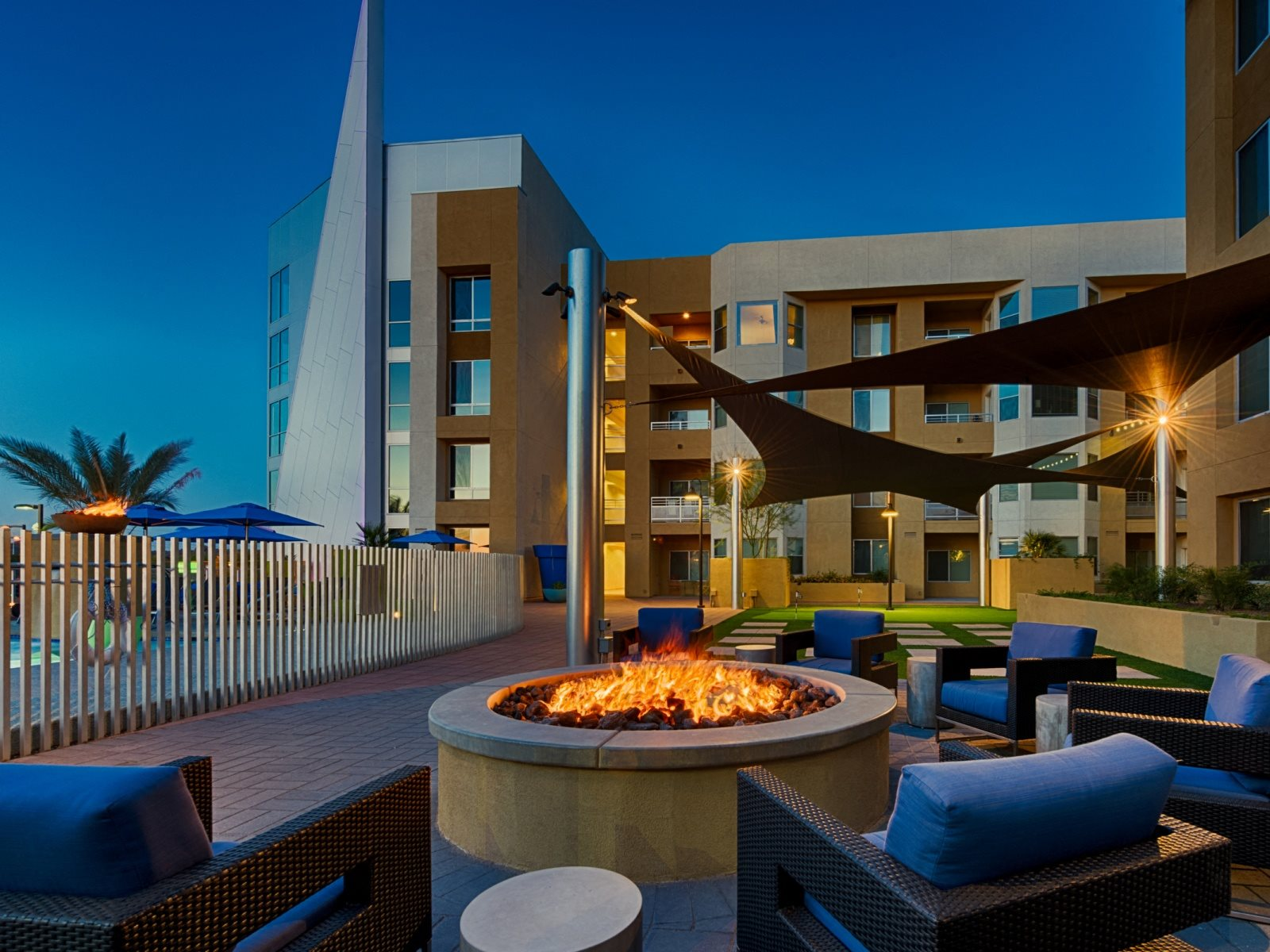 Luxury Apartments in Tempe Arizona - Skywater at Town Lake Building View