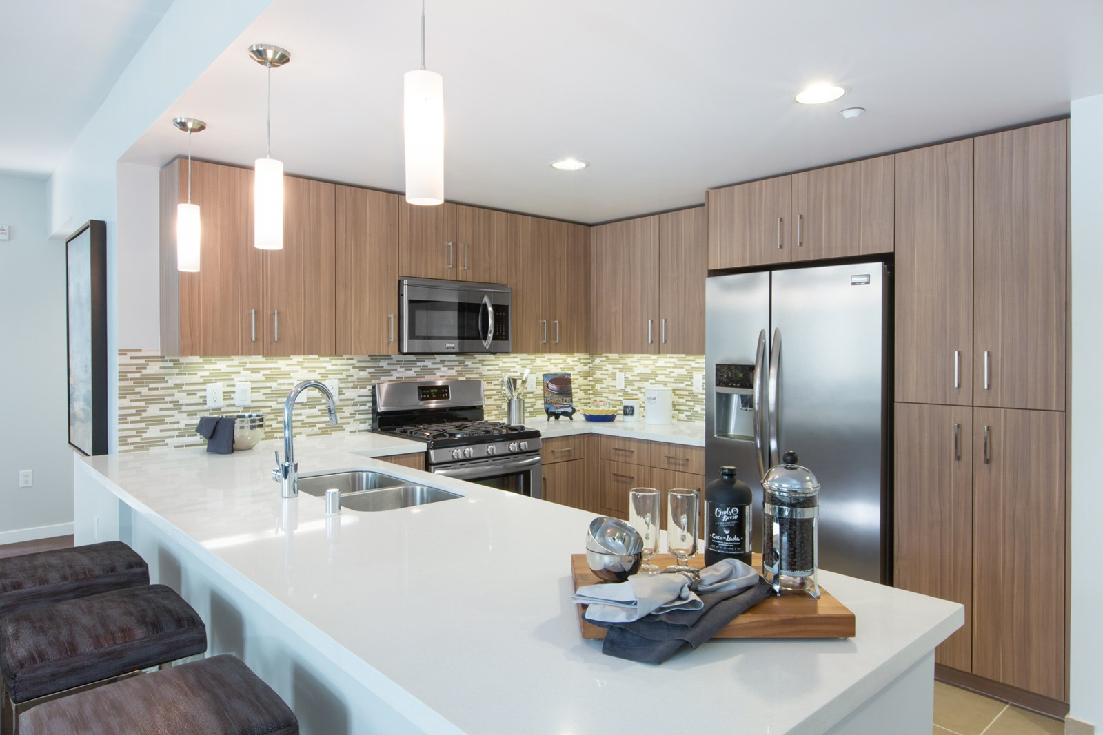 Apartments for Rent in Cupertino, CA - Nineteen800 Kitchen