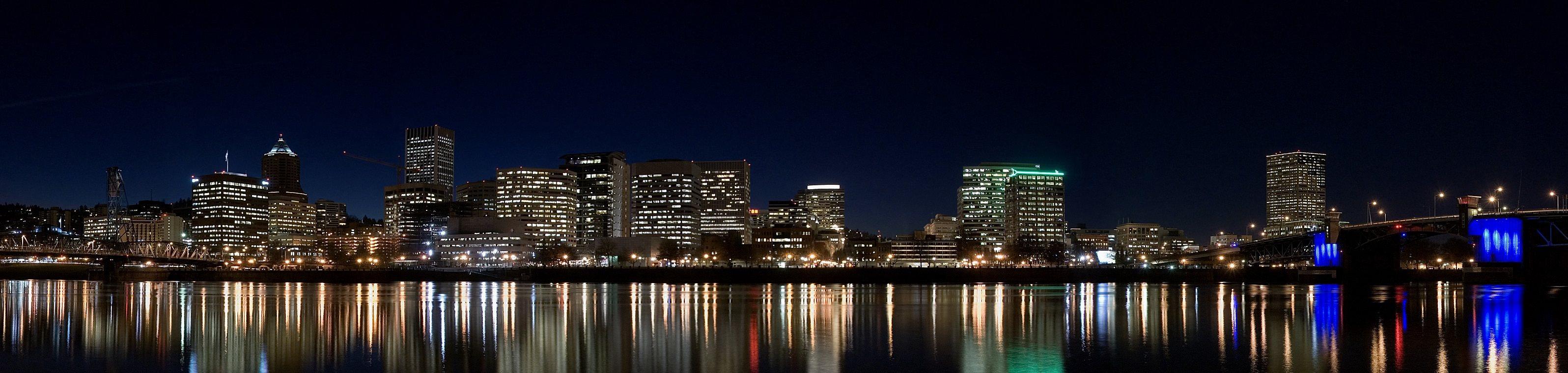 Portland Skyline near Kearney Plaza Apartments in Portland, Oregon