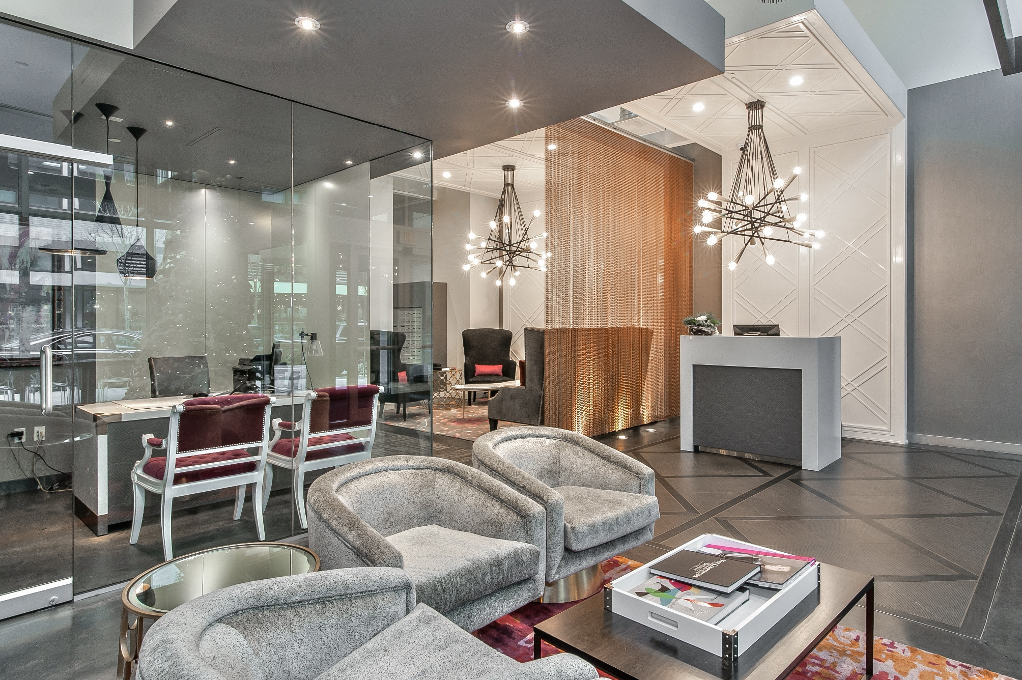 Modern Fixtures at The Louisa Apartments in Portland, Oregon