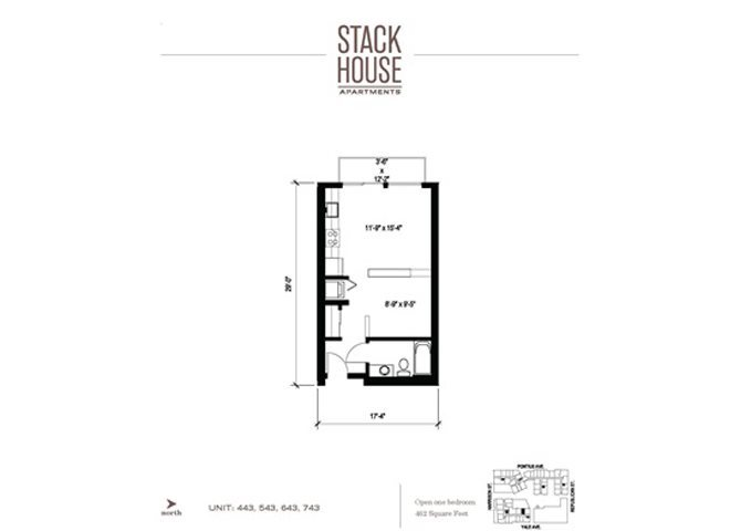 Studio Plus Floor Plan 2