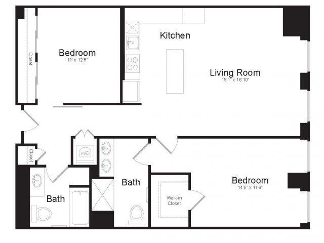 D1 Floor Plan 16