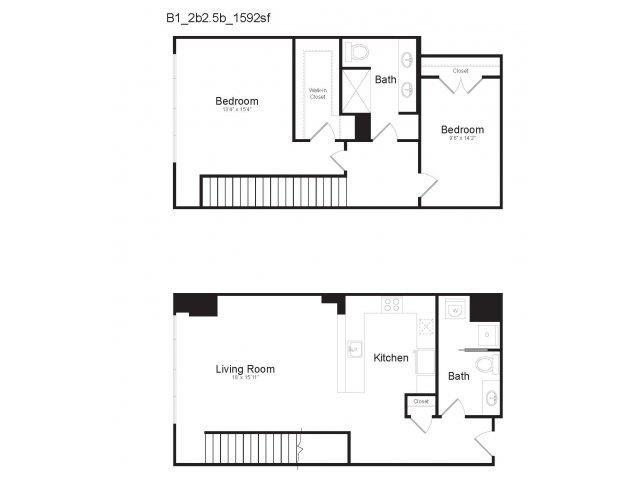 DUPLEX B1 Floor Plan 20