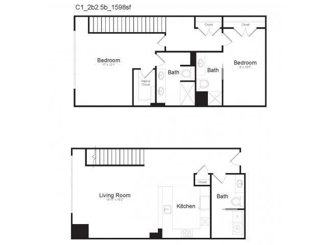 DUPLEX C1 Floor Plan 21
