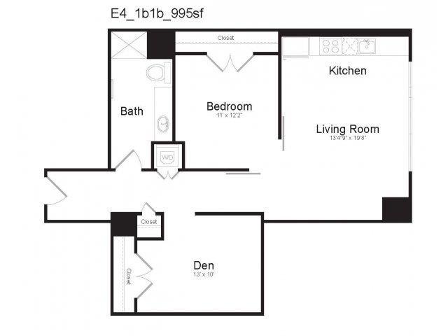 E4 Floor Plan 14