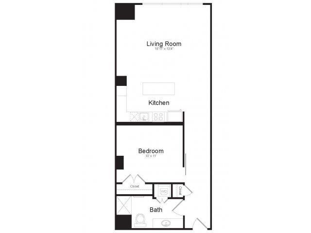 F2 Floor Plan 13