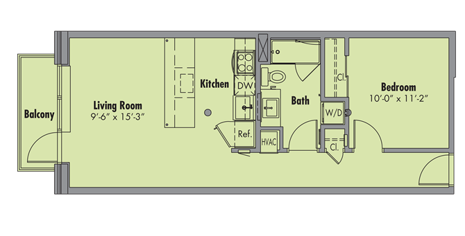 The Detroiter Floor Plan 4