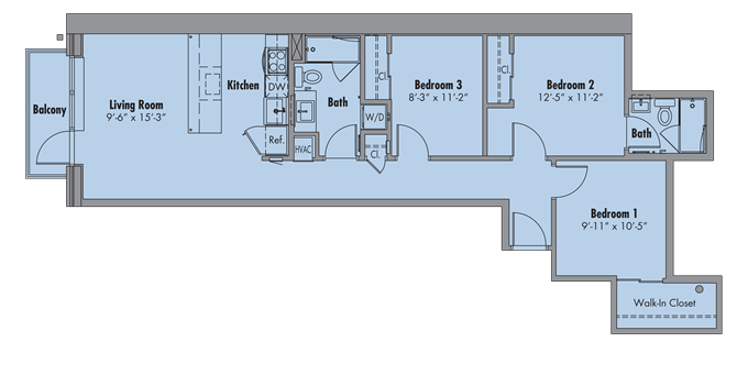 The Ellington Floor Plan 5
