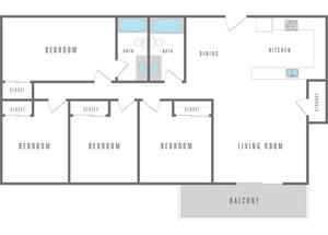 4 bedroom 2 bath