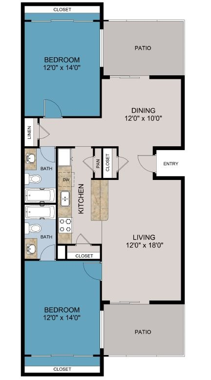 B3 Floor Plan 3