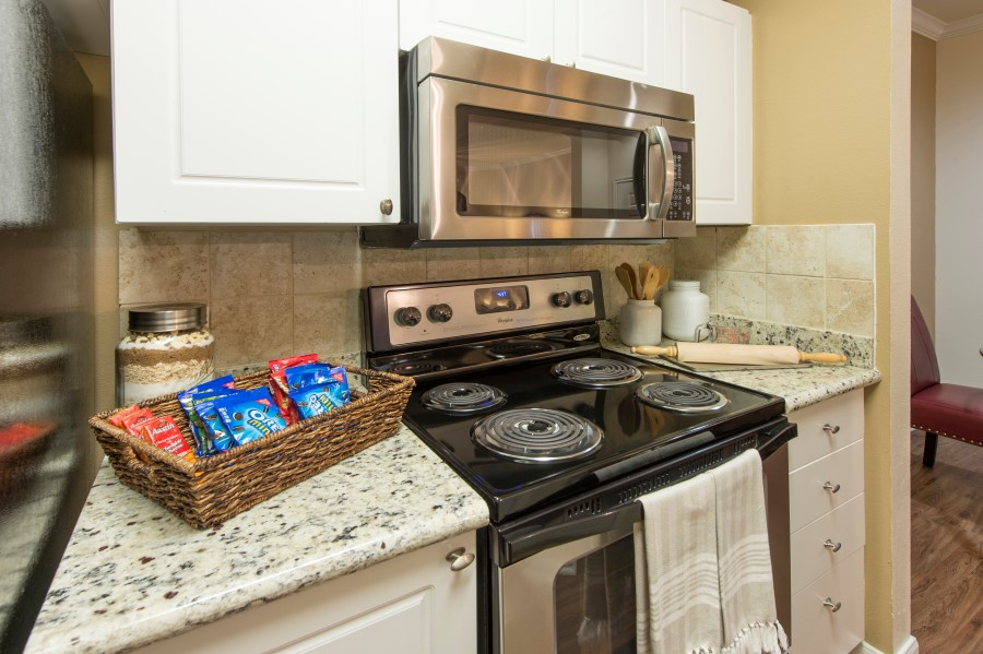 Image of our kitchens at Chandler Park Apartments