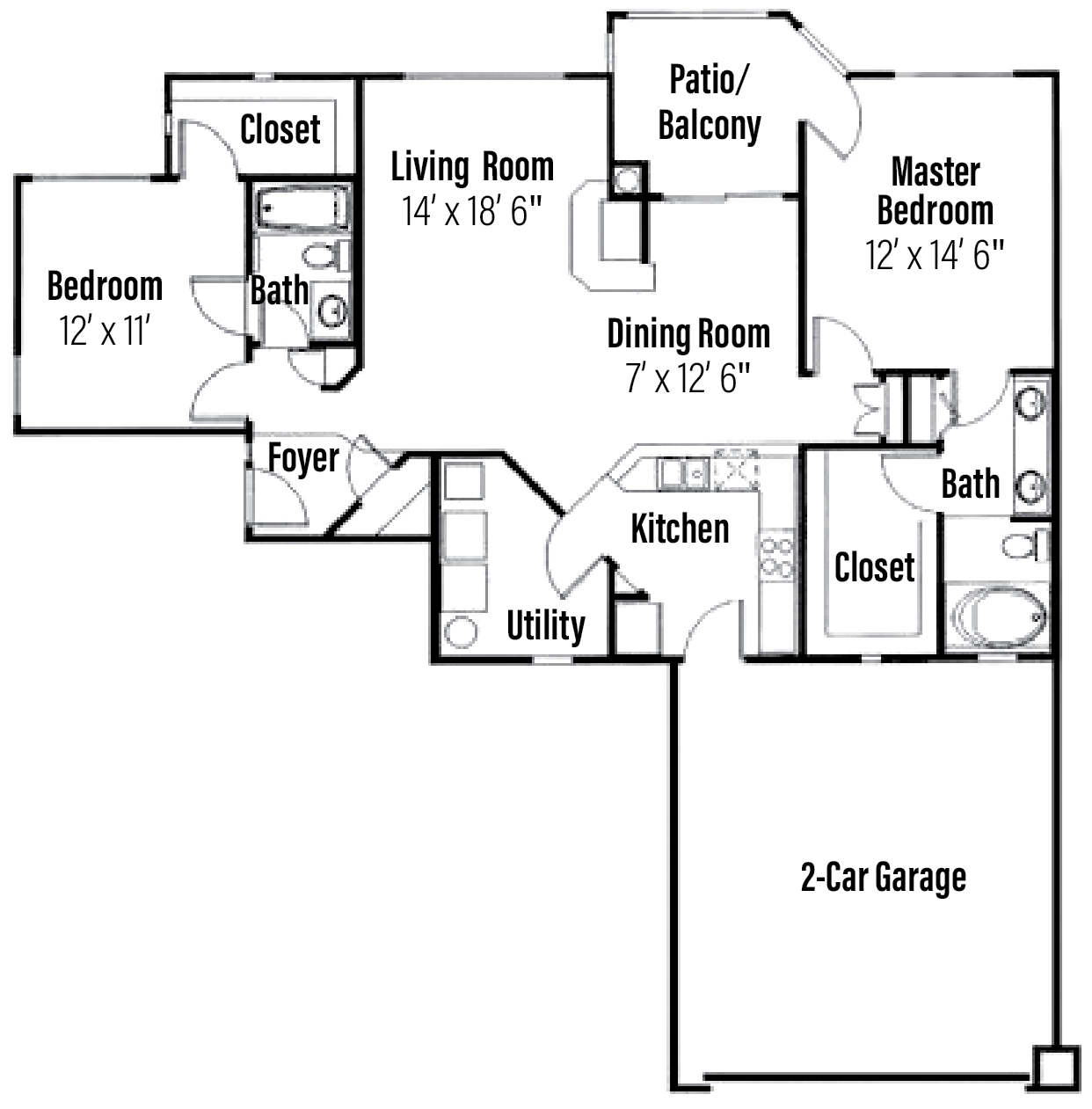 Barbados Floor Plan 3