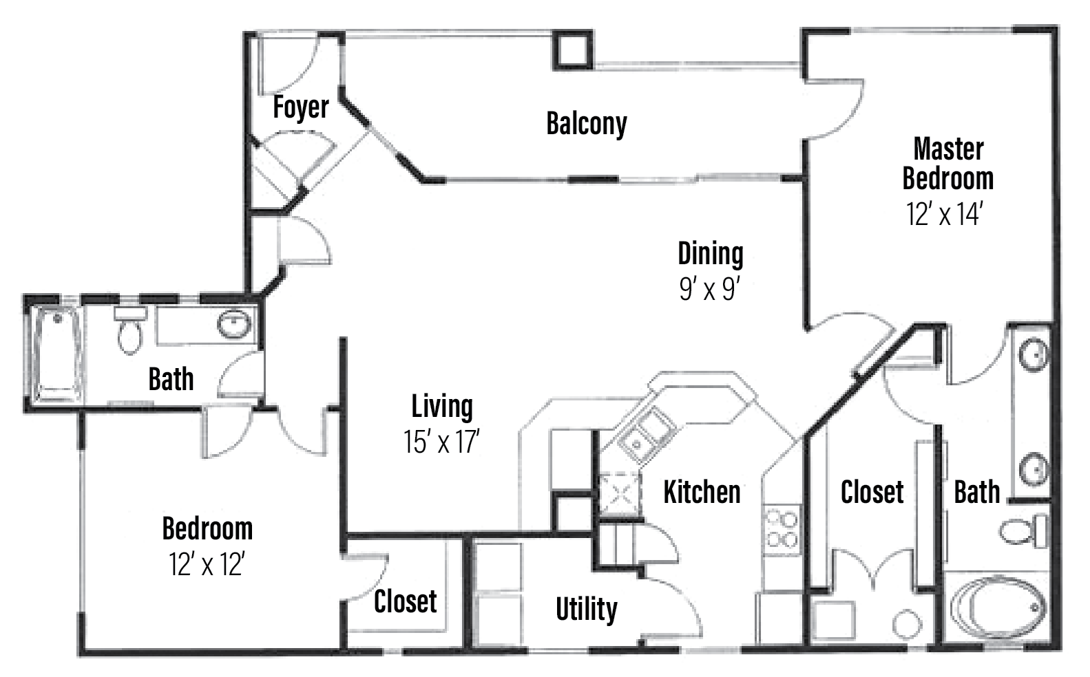 Riviera Floor Plan 2