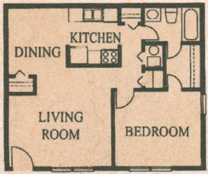 1 Bed 1 Bath - The Chelsea