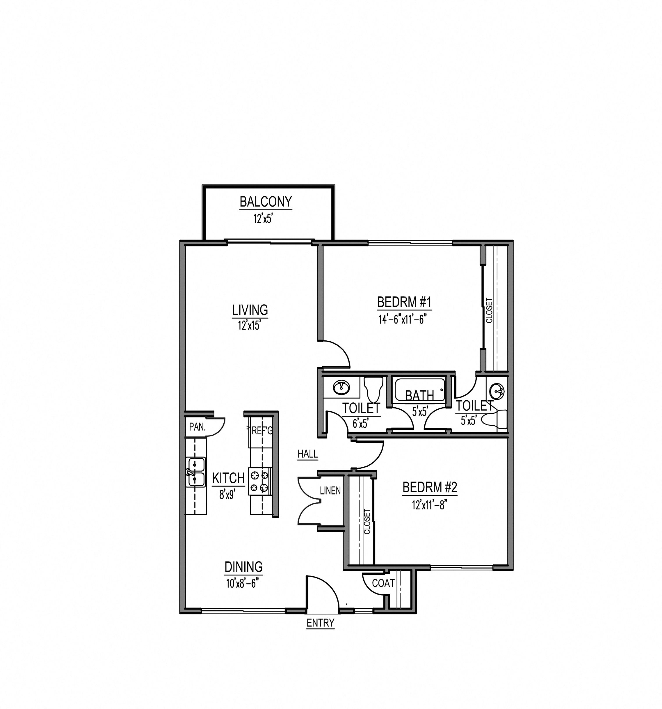 Rolling Hills Apartments: Floor Plans Of Rolling Hills Apartment Homes In Torrance, CA