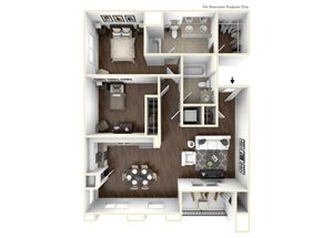 2 Bedroom Plan B