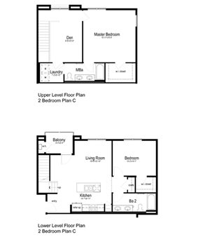 2 Bedroom Plan C