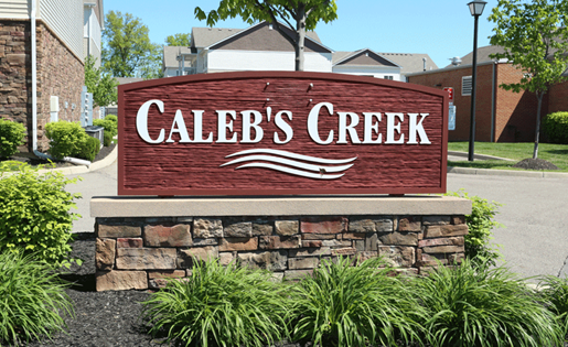 at Caleb's Creek, Ohio, 43081