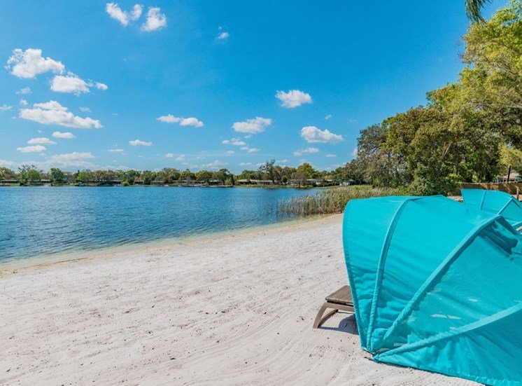 Private Beach at Enclave at Lake Underhill, Florida, 32803