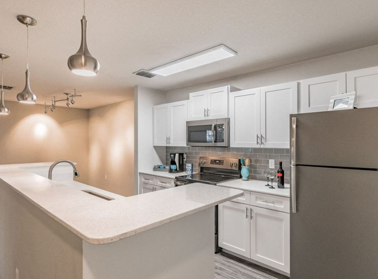 Upgraded Kitchen at Enclave at Lake Underhill, Orlando, FL