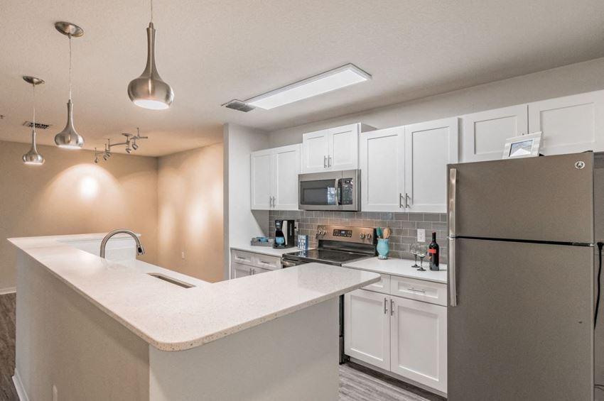 Upgraded Kitchen at Enclave at Lake Underhill, Orlando, FL
