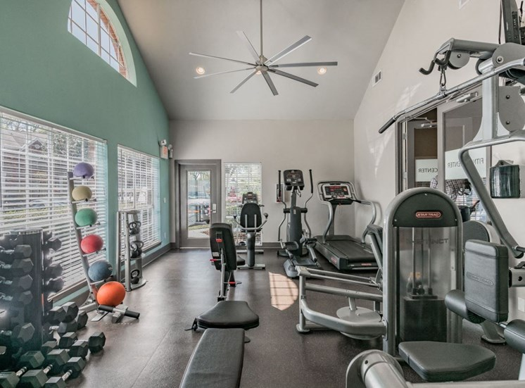 24hr Fitness Center at Enclave at Lake Underhill, Orlando, Florida