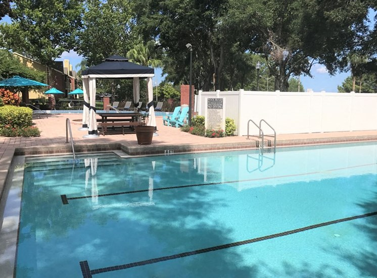 Resort Inspired Pool with Sundeck at Enclave at Lake Underhill, Orlando