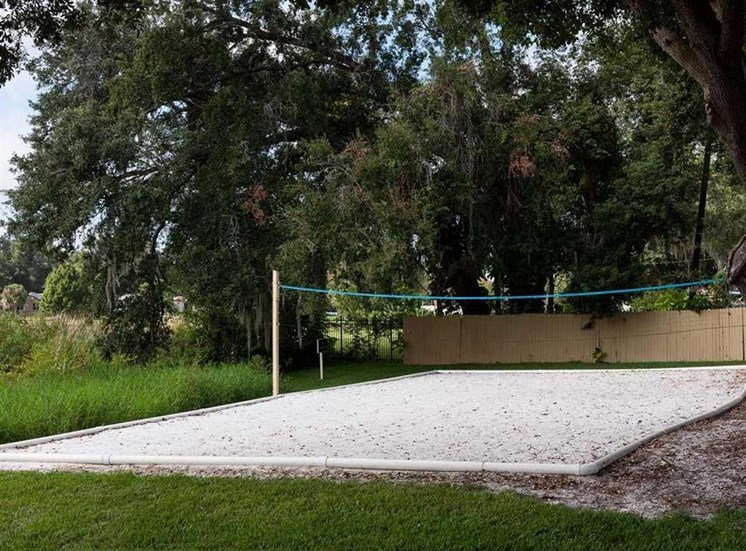 Sand Volleyball Court at Enclave at Lake Underhill, Orlando, FL, 32803
