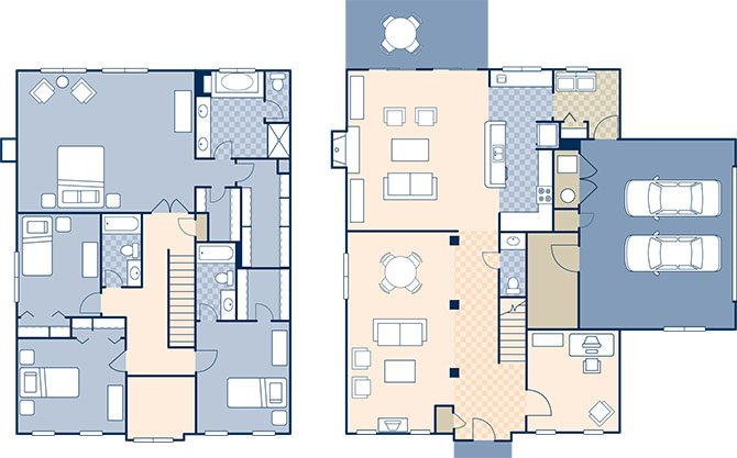 Cherbourge Village 2902 Floor Plan 8