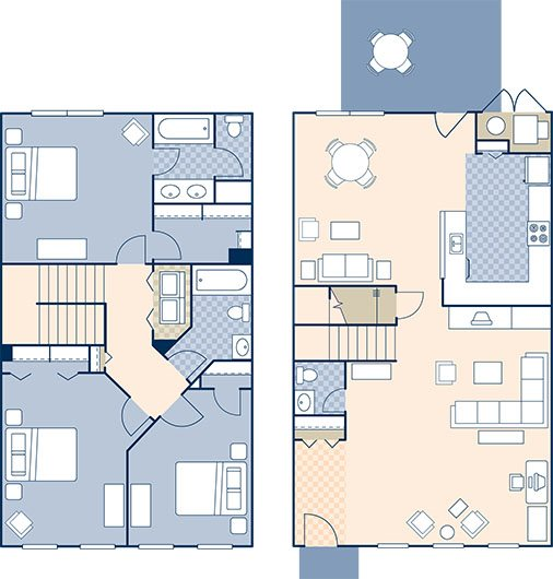 North Village 1630 Floor Plan 20