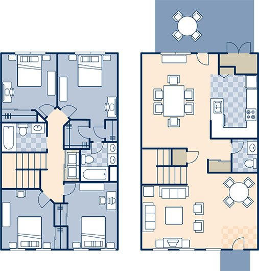 North Village 1630 B Floor Plan 21