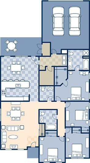 Cherbourge Village 2000 Floor Plan 6