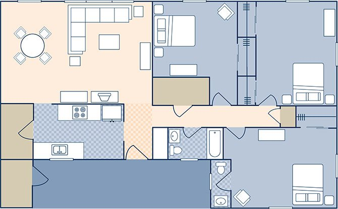 St. Nazaire Village 1054 Floor Plan 27