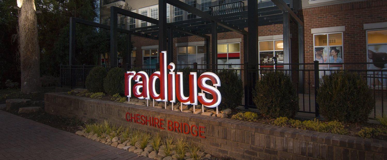 Radius Cheshire Bridge