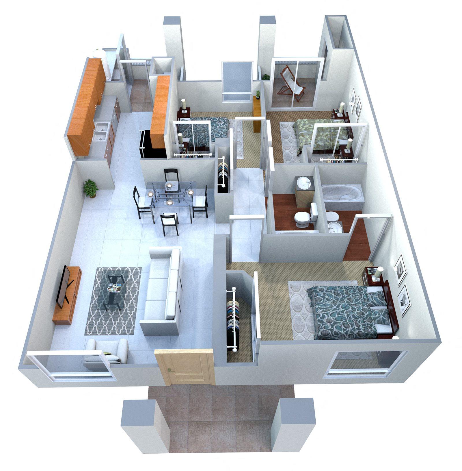 Floor Plans Of San Angelin Apartments In Mesa, AZ