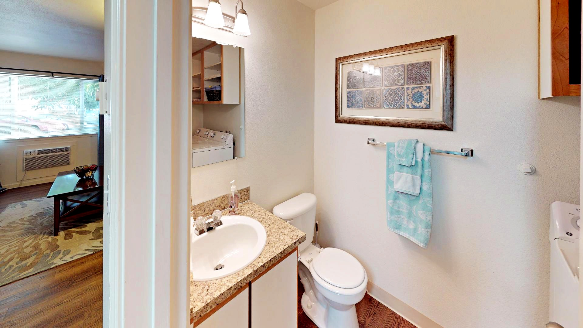 JV ModelJenna-Village-Model-Apartment Bathroom