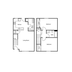 Jenna Village Apartments Floor Plan
