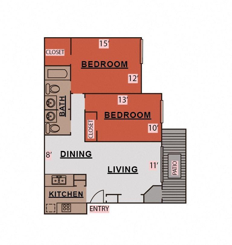 B1/B2 Floor Plan 3
