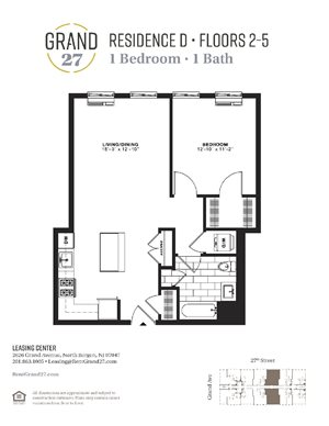 1 Bedroom 1 Bathroom D