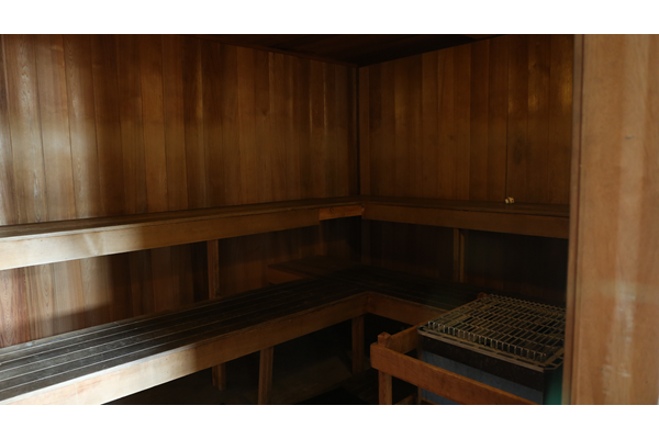 Sauna at Main Street Village Apartments, 5504 Town Center Drive, Indiana