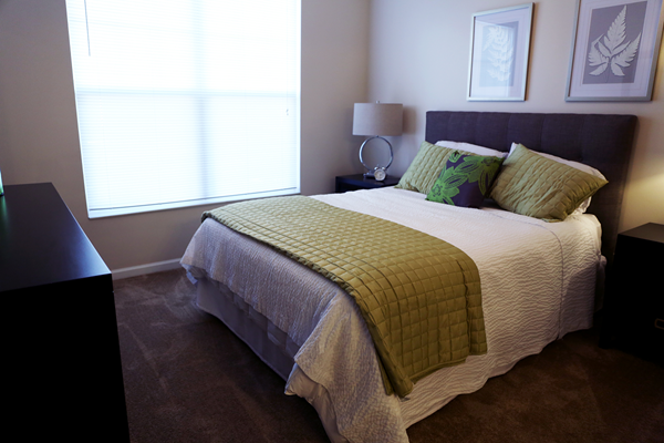 Live in cozy bedrooms at Main Street Village Apartments, Indiana 46530