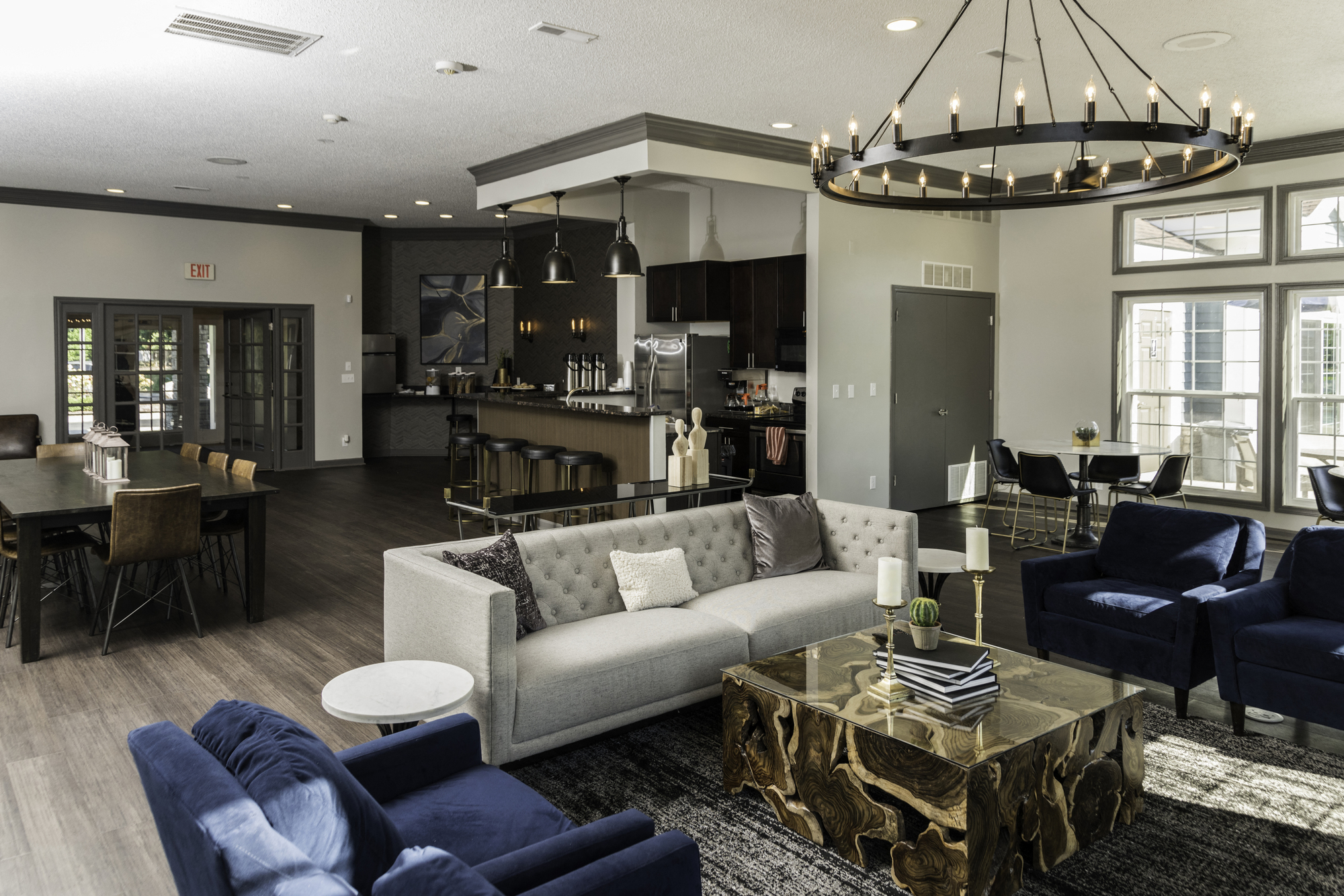 Clubhouse with Upgraded Interiors at Fairlane Woods Apartments, Dearborn, Michigan