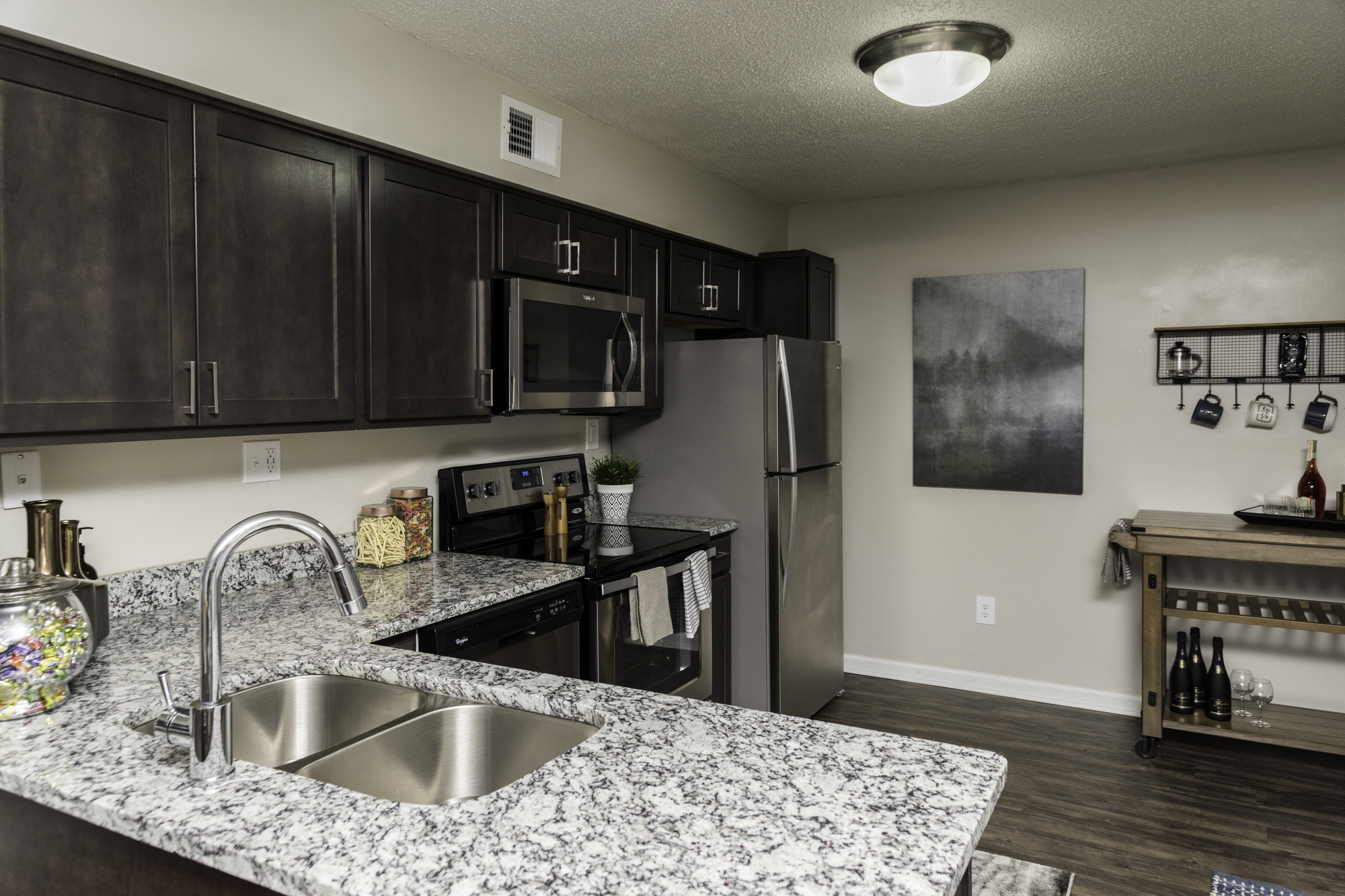 Stainless Steel Appliance Package at Fairlane Woods Apartments, Dearborn