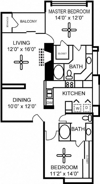 Pebble Beach Floor Plan 3
